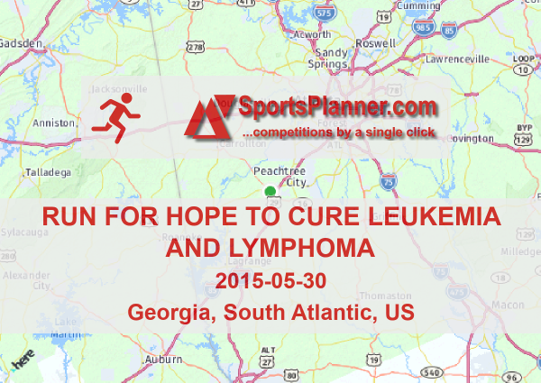 Run for Hope to Cure Leukemia and Lymphoma | Running in South
