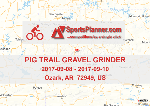 The Pig Trail Arkansas Map.Pig Trail Gravel Grinder Cycling In Ar 72949 Us 08 September 2017