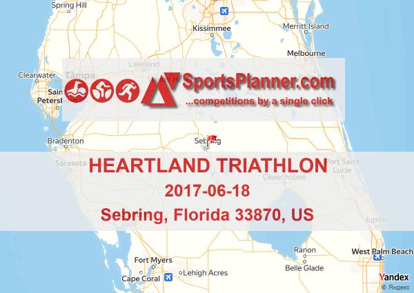 Heartland Florida Map.Heartland Triathlon Triathlon In Florida 33870 Us 18 June 2017