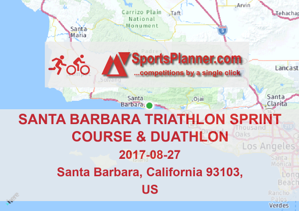 Santa Barbara Triathlon Sprint Course & Duathlon | Duathlon