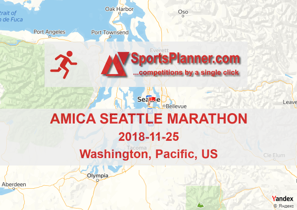Amica Seattle Marathon | Running in Pacific (US), 25 November 2018