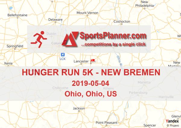 Hunger Run 5k New Bremen Running In Ohio Us 04 May 2019