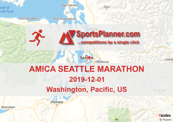 Amica Seattle Marathon | Running in Pacific (US), 01 December 2019
