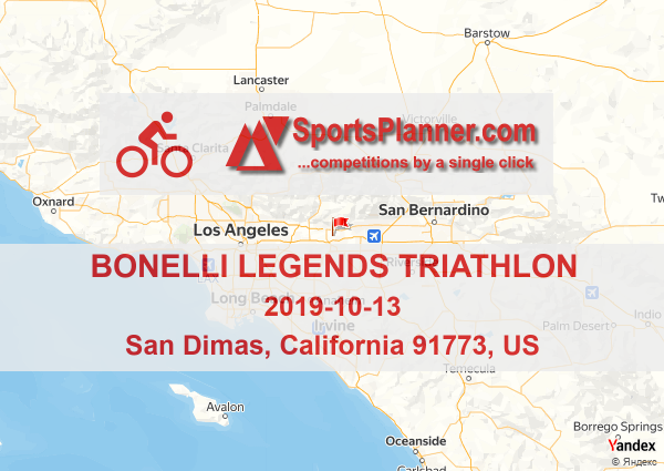 Bonelli Legends Triathlon | Cycling in California 91773 (US