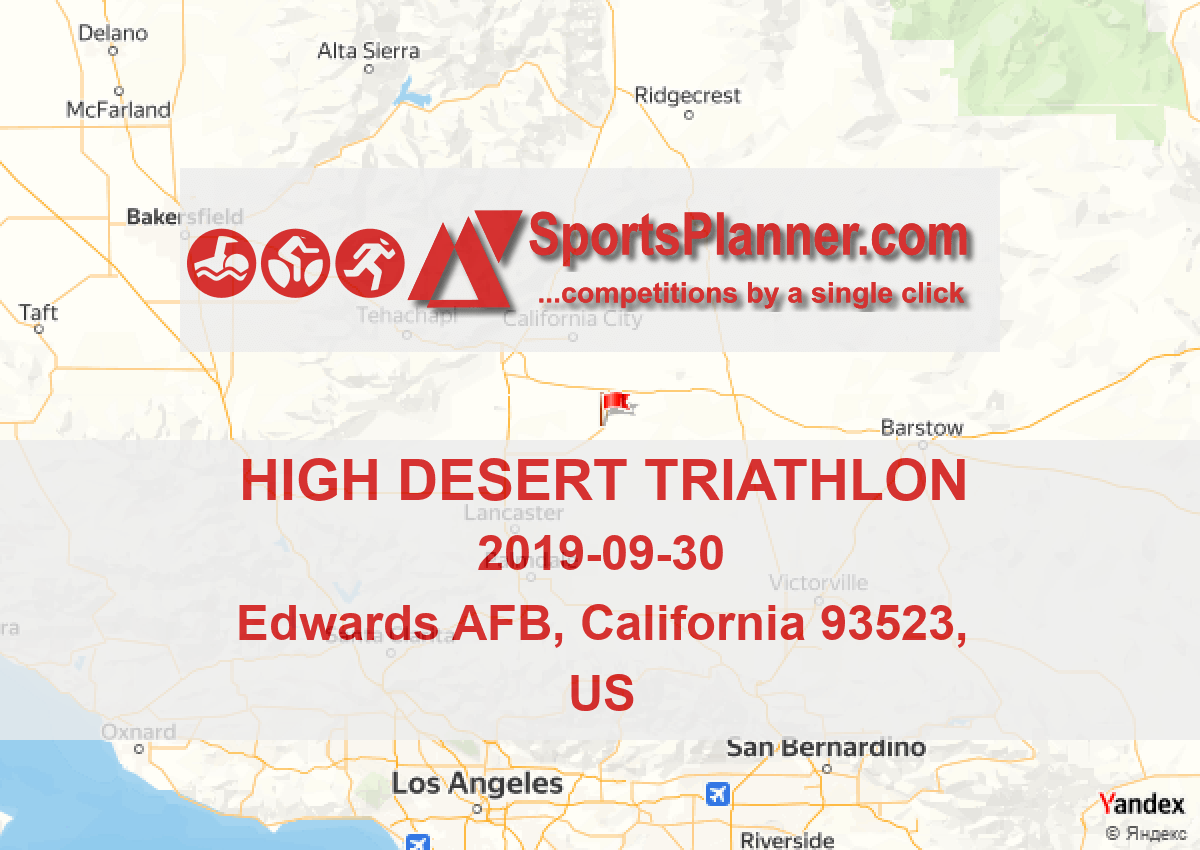 High Desert Triathlon | Triathlon in California 93523 (US
