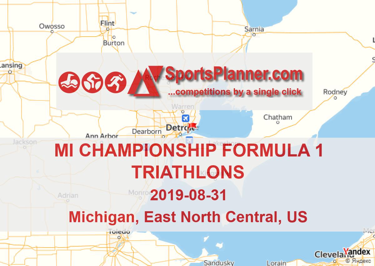 MI Championship Formula 1 Triathlons   Triathlon in East North