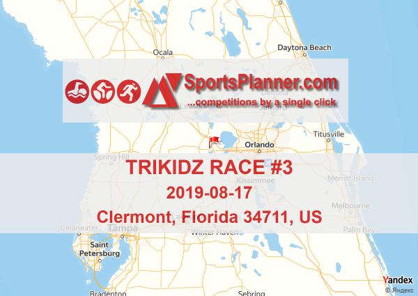 TriKidz Race #3 | Triathlon in Florida 34711 (US), 17 August