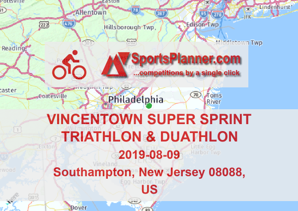 Vincentown Super Sprint Triathlon & Duathlon | Cycling in