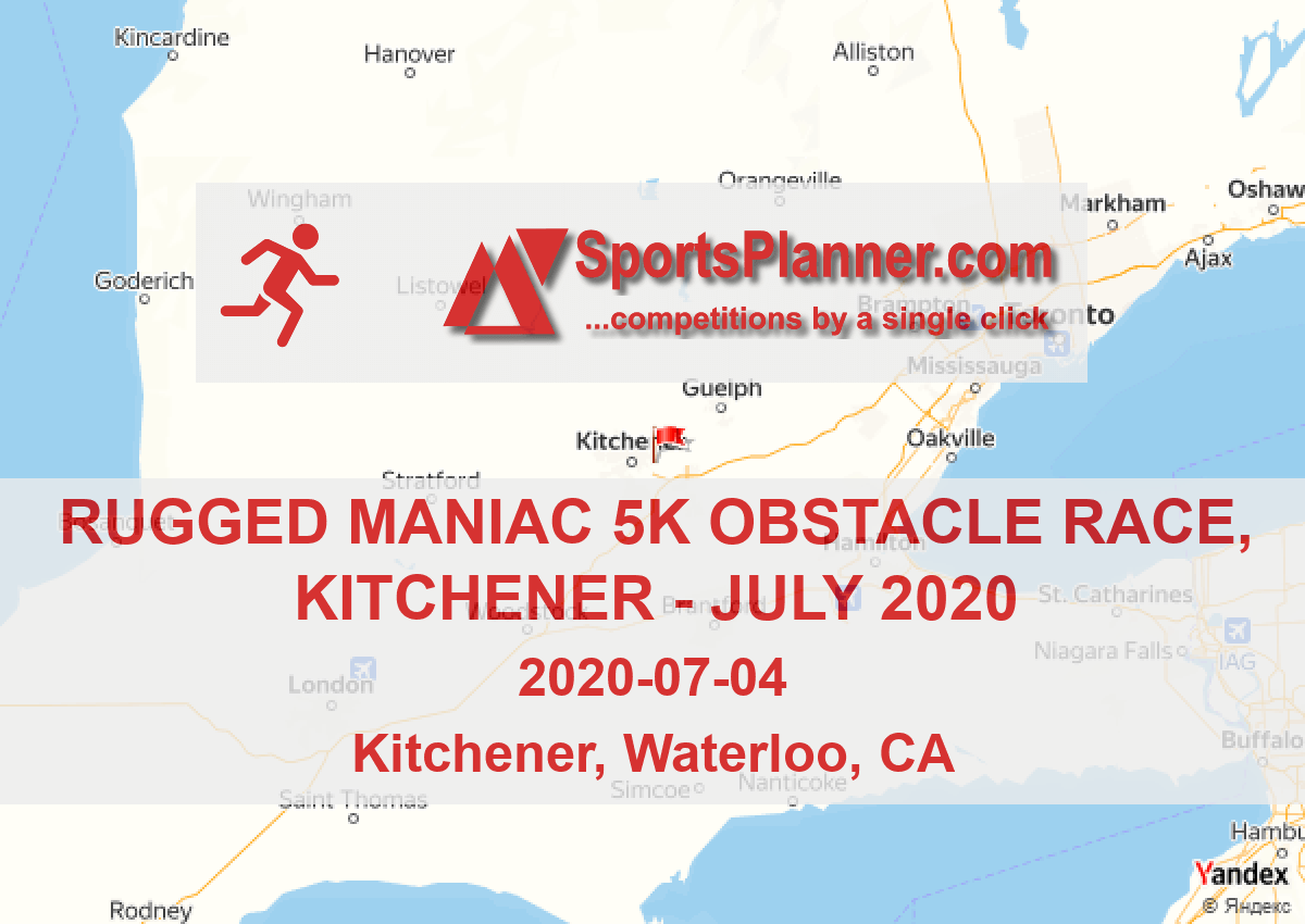 Rugged Maniac 5k Obstacle Race, Kitchener | Running in
