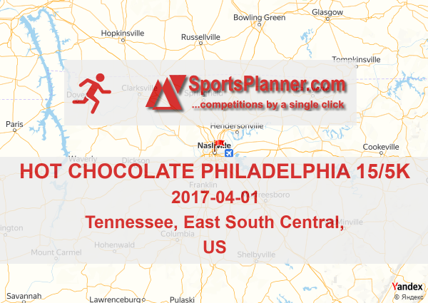 Hot Chocolate Philadelphia 15/5k   Running in East South Central ...